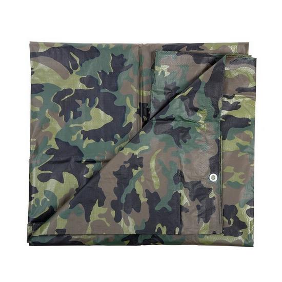 Leger thema feest camouflage afdekzeil groen 1,9 x 3 meter