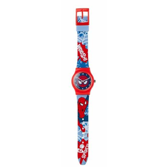 Leren klokkijken Spiderman horloge analoog