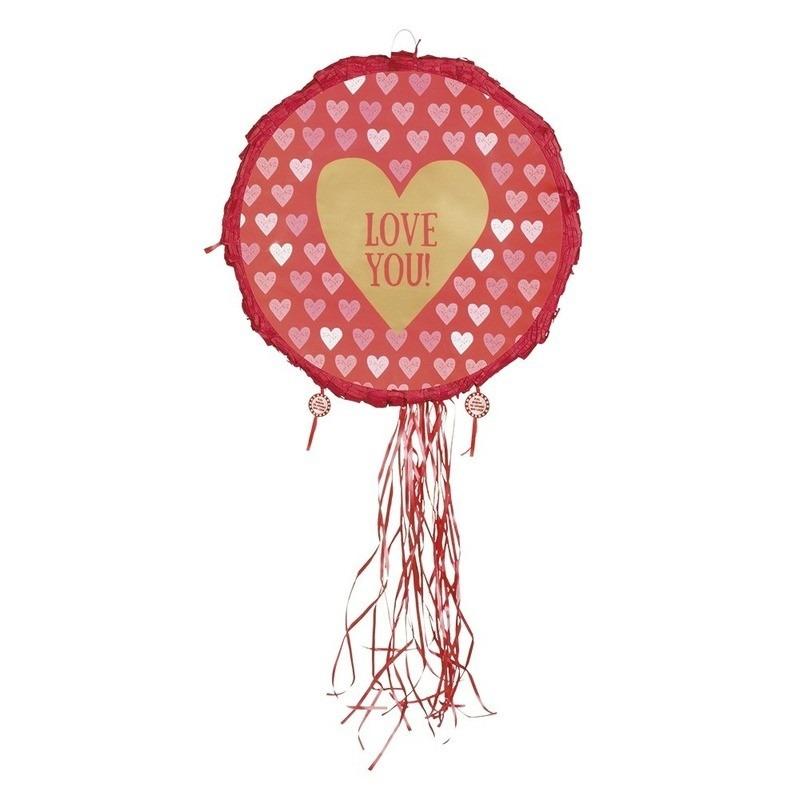 Liefdes pinata love you 40 cm