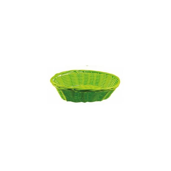 Lime rieten mandje 20 cm