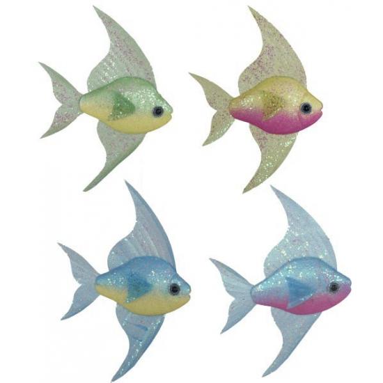 Maritieme decoratie tropische vissen