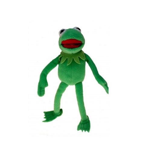 Muppet knuffels Kermit de kikker 35 cm