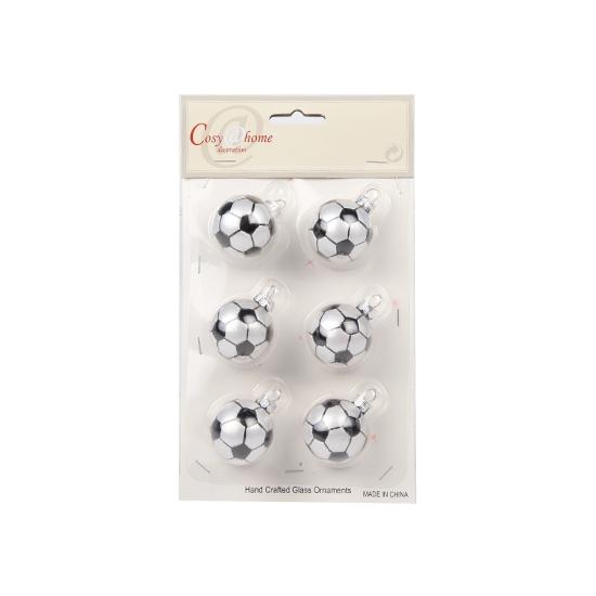 Onbreekbare voetbal kerstballen