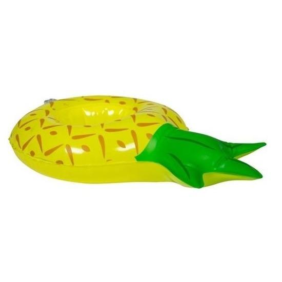 Opblaasbare drankhouder ananas 27 cm