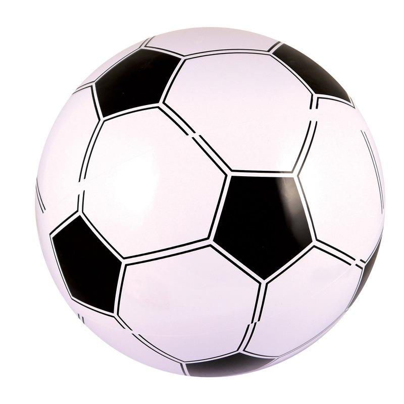 Opblaasbare strandbal-voetbal 41 cm
