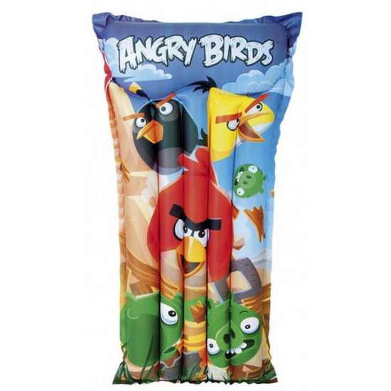 Opblaasbed zwembad Angry Birds