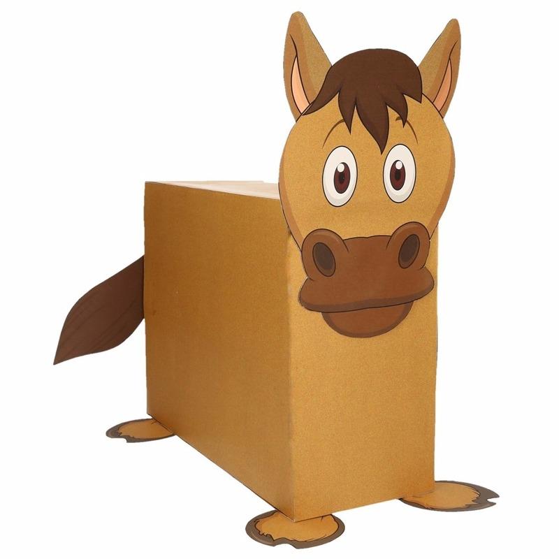 Sinterklaas Paard Suprise Bouwpakket Bestellen Handpoppen Winkel