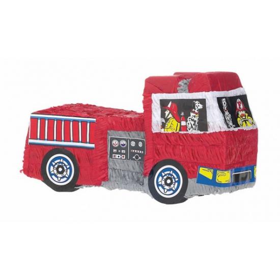 Pinata brandweerwagen 48 cm