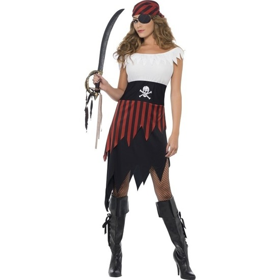 Piraten jurk voor dames