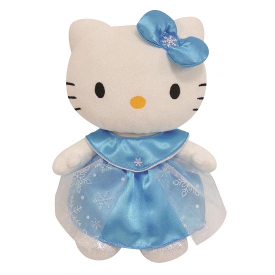 Pluche Hello Kitty knuffeltje 27 cm