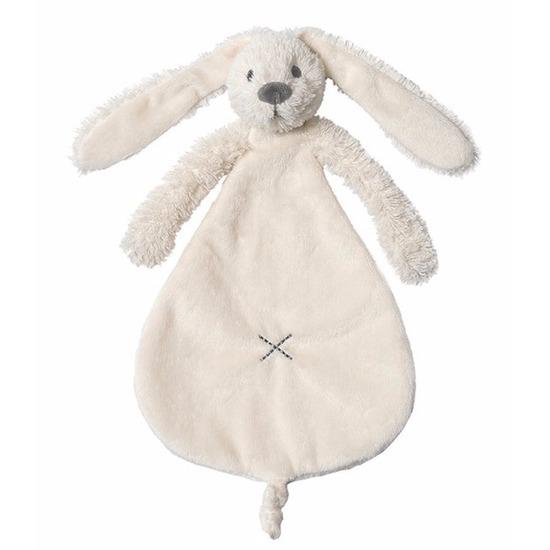 Pluche konijnen knuffeldoekje Richie 25 cm