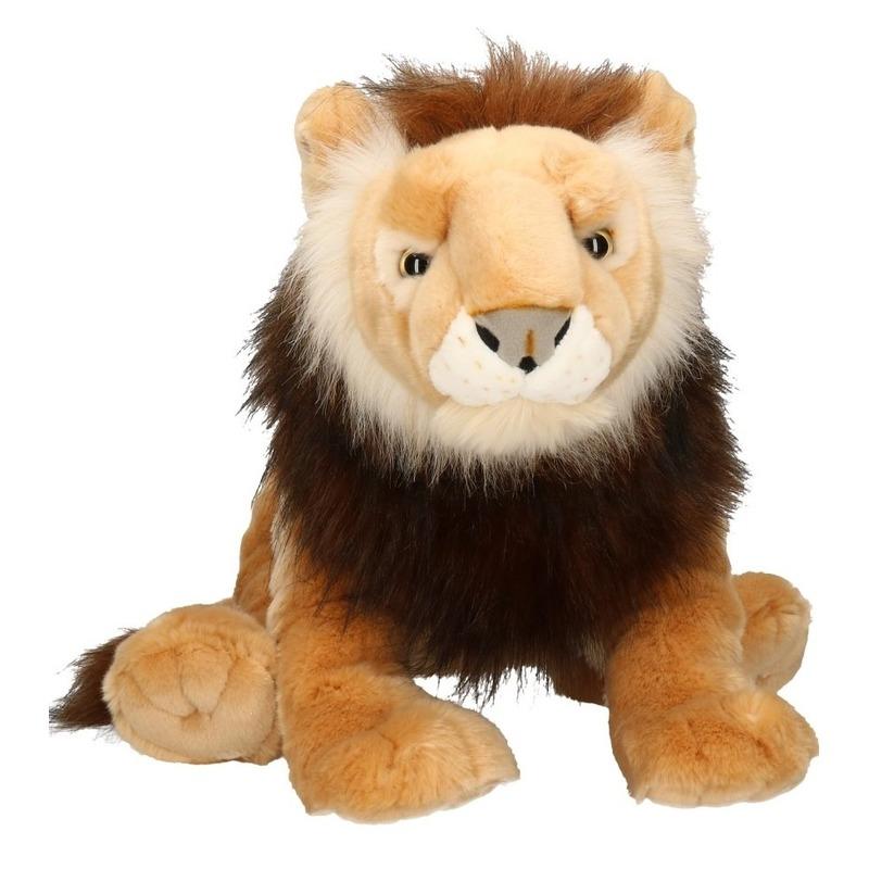 Pluche leeuwen knuffels 71 cm