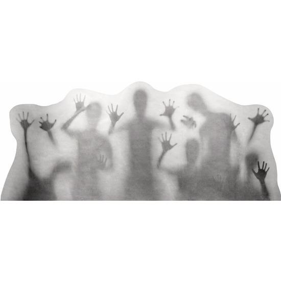 Raamsticker horror silhouetten 35 x 78 cm