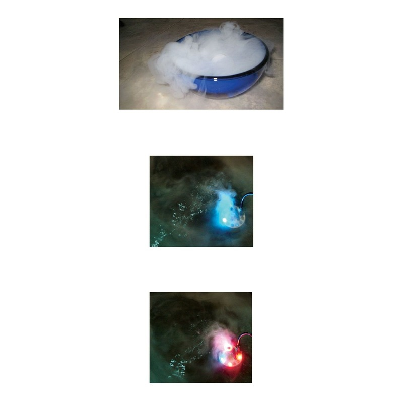 Rook apparaat met LED lampjes