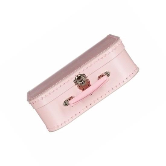 Roze logeer koffer voor meisjes