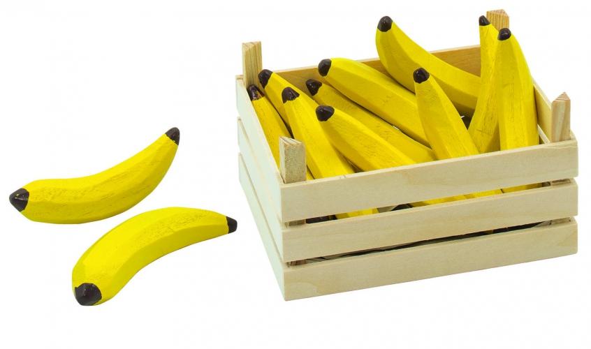 Speelgoed banaan met kist