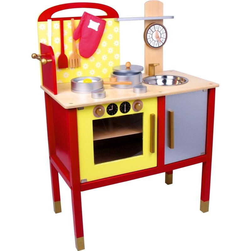Speelgoed keuken van hout