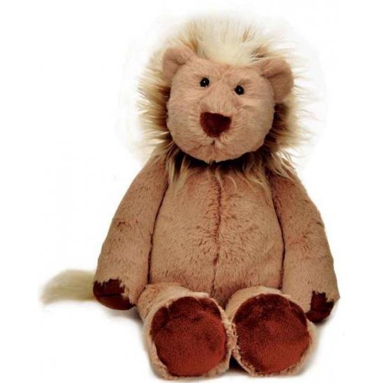 Speelgoed knuffels leeuw bruin 25 cm