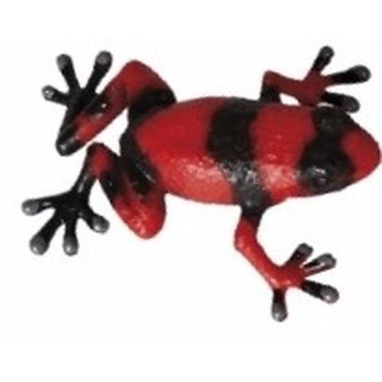 Speelgoed pijl gifkikker rood 5 cm