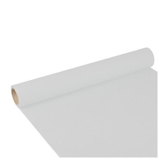 Tafelloper wit 300 x 40 cm papier