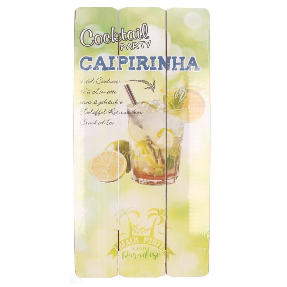 Tuin decoratie bordje Caipirinha cocktail