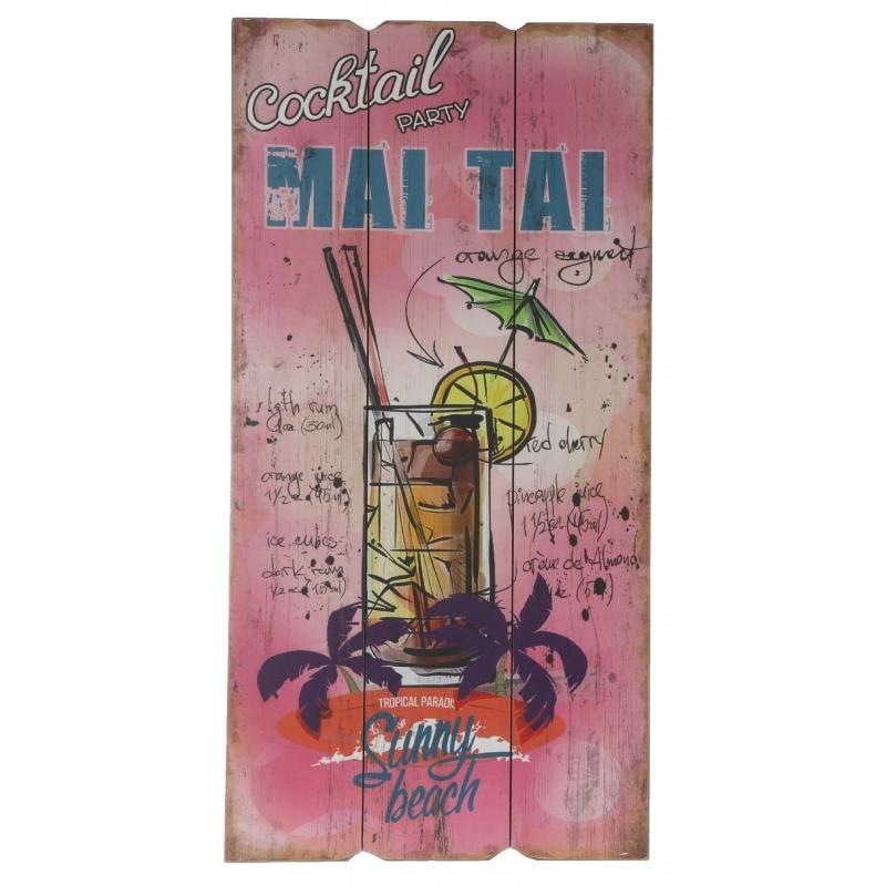 Tuin decoratie bordje Mai Tai cocktail