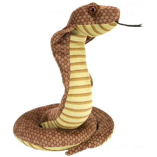 Wild Republic knuffel cobra 30 cm