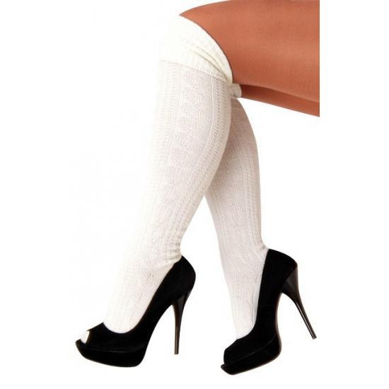 WitteTiroler sokken voor vrouwen