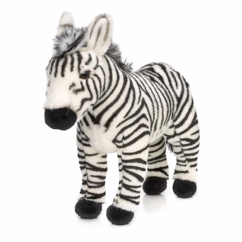 WNF zebra knuffel staand 23 cm