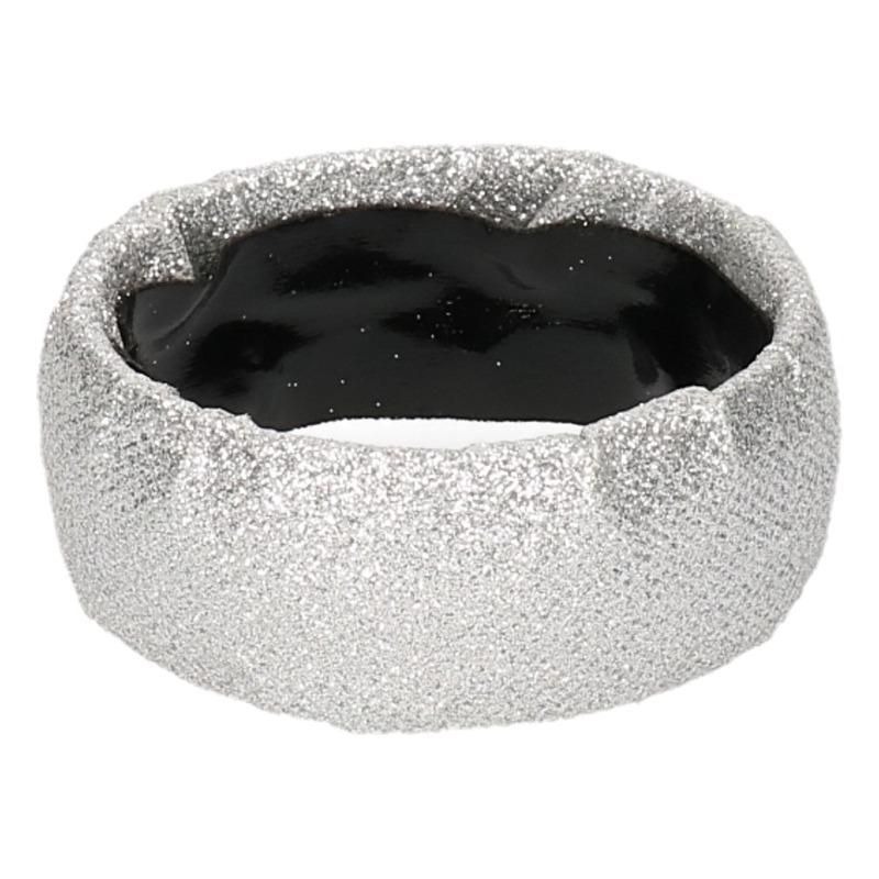 Zilveren armbanden met glitters