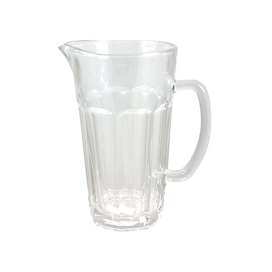 Glazen schenkkan 1,2 liter voor water of sap