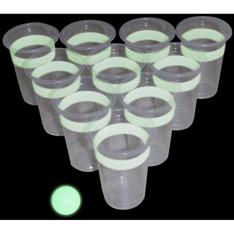 Glow in the dark beker drinkspelletje