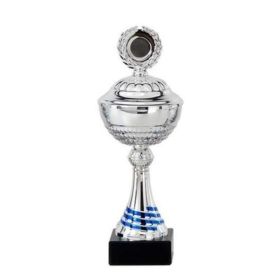 Grote zilveren trofee-prijs beker 30 cm