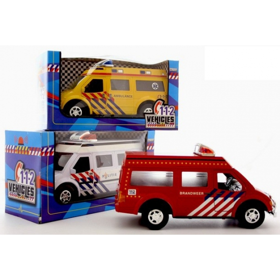 Speelgoed 112 auto politie Geen
